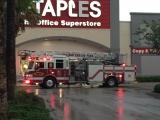 Ladder 53 on scene of alarm activation
