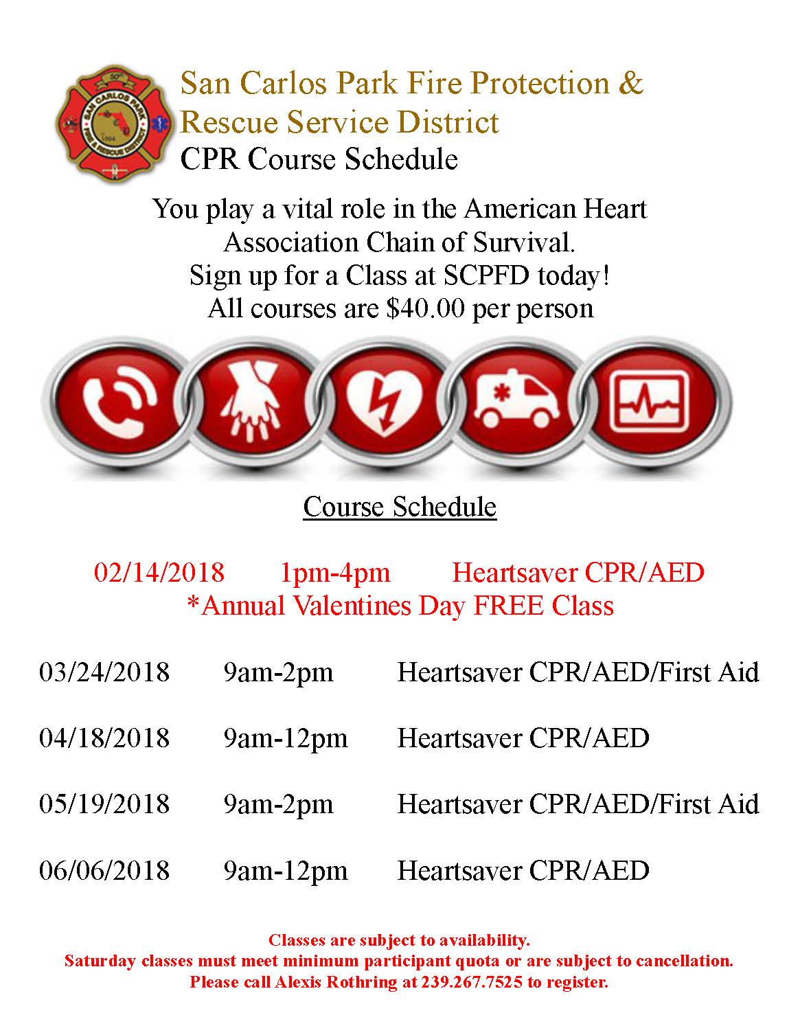 Heartsaver cpr classes san carlos park fire protection and cpr classes xflitez Images